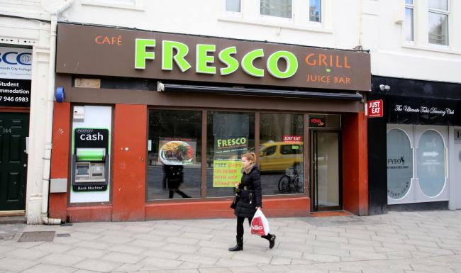 Cafe Fresco at 142 Old Christchurch Road in Bournemouth..