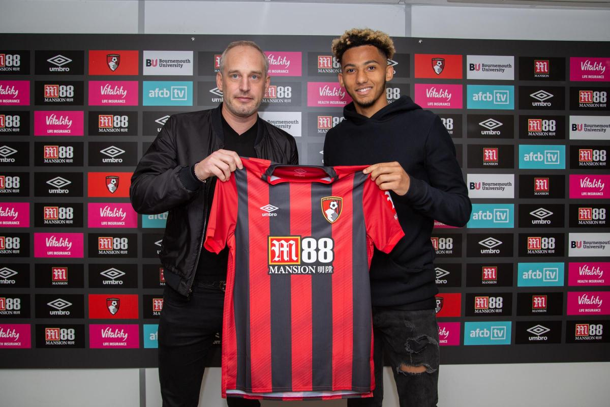 lace up in new photos 100% genuine AFC Bournemouth complete signing of Bristol City defender ...