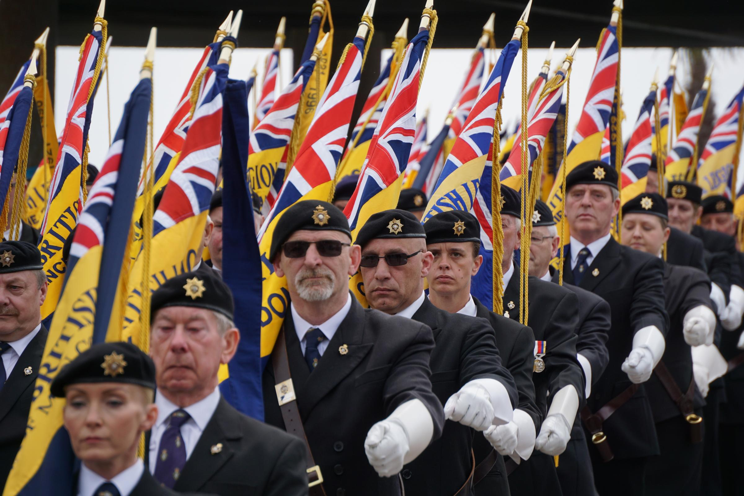 PICTURES: The Royal British Legion's Bournemouth parade on Sunday