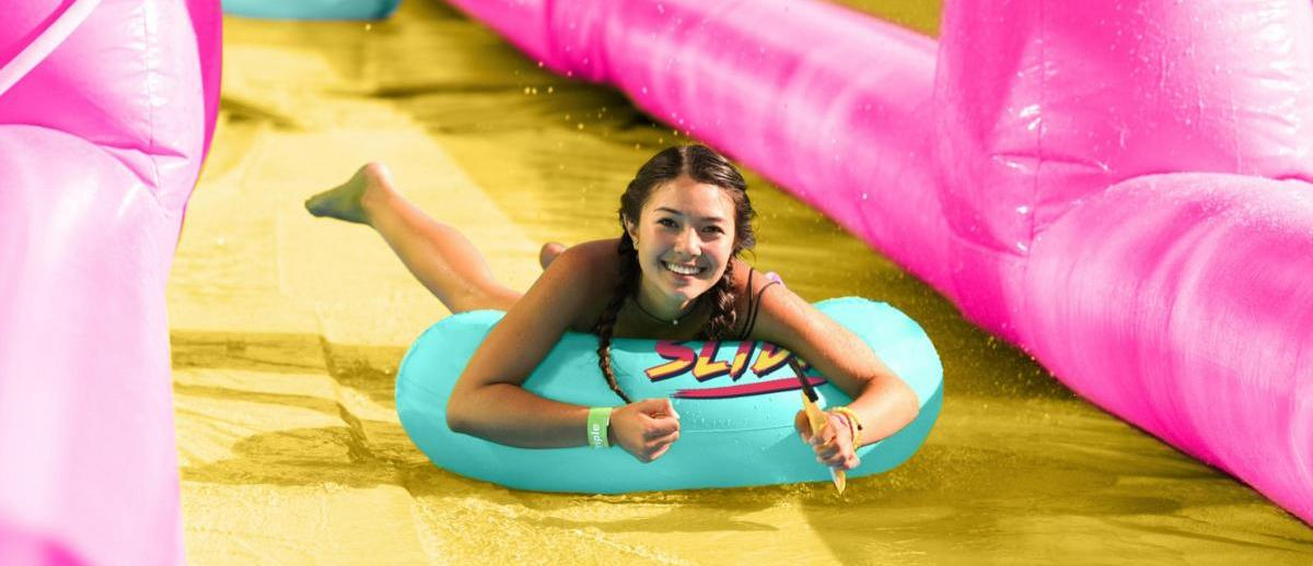 Bournemouth's giant waterslide returning to Richmond Hill