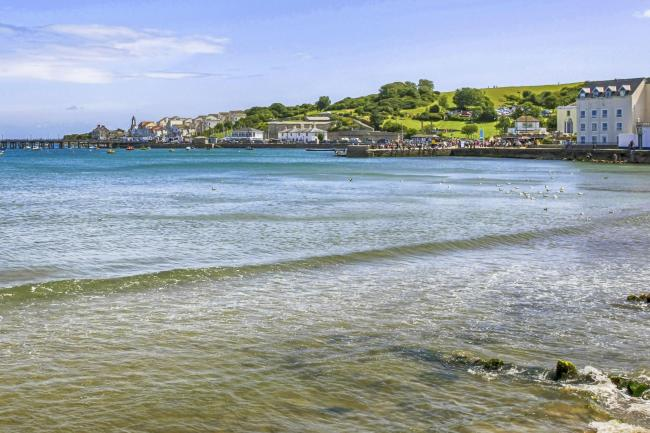 An earthquake struck off the coast of Swanage