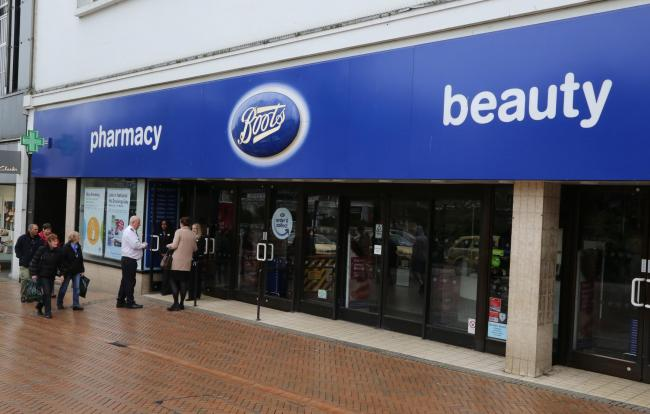 Boots off Bournemouth's Square is among dozens of Dorset branches