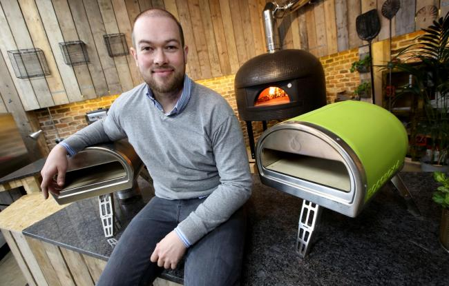 Tom Gozney invented the Roccbox oven for al fresco dining
