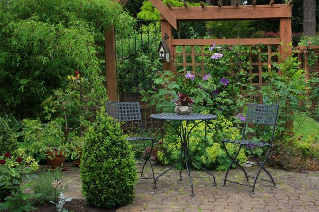 A small garden can become a city oasis. Picture: iStock/PA.
