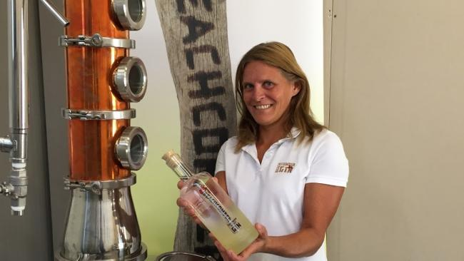 Kaz Bass devised Beachcomber Gin after leaving her job as an armed police officer
