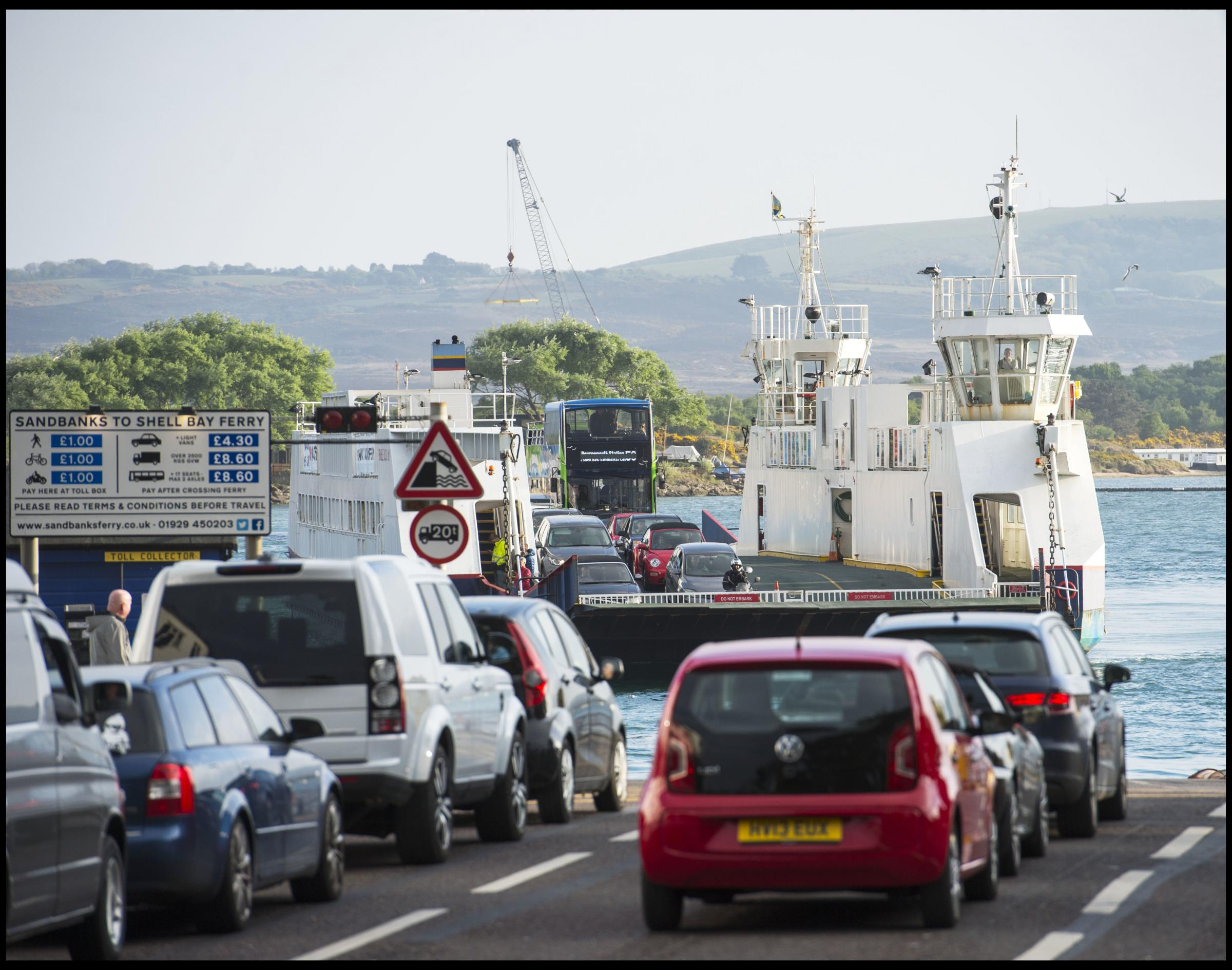 Chain ferry is on target for October reopening: Swanage ferry bosses say repair work is being completed