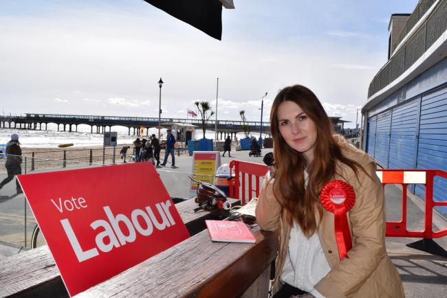 Corrie Drew, Labour's prospective parliamentary candidate for Bournemouth East