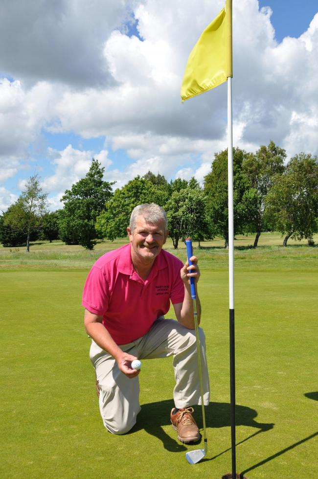 Neil Holdaway achieved a hole in one