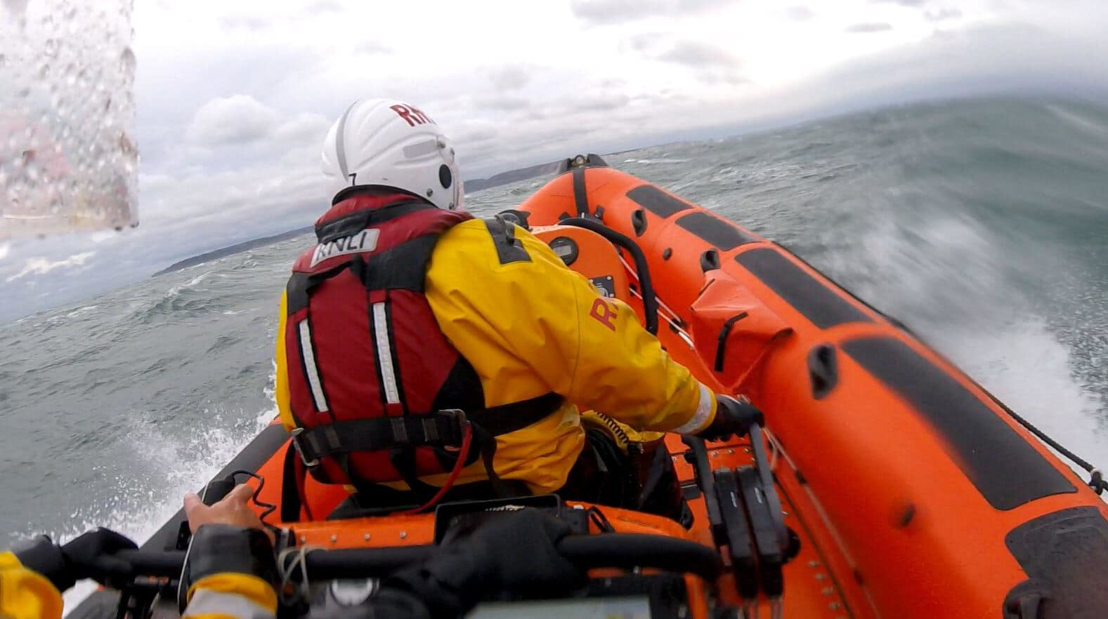 Sailor struck by boom before falling into the sea suffers a 'significant' head injury